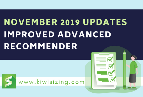 November 2019 Updates: improved advanced recommender