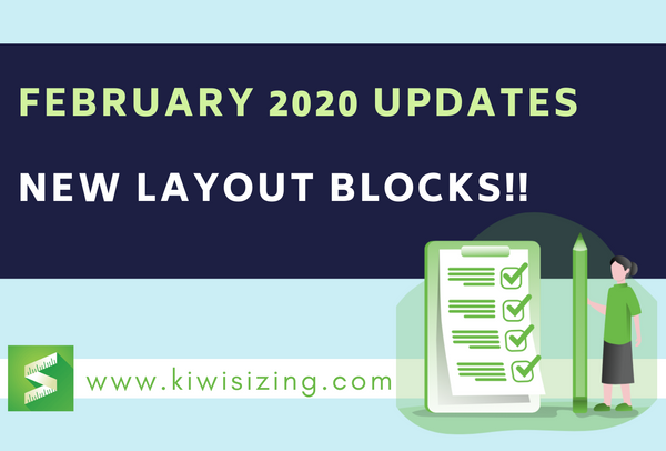 February 2020 Updates: new Layout blocks!!